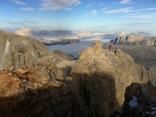 [Pale di San Martino] Cimon della Pala (3184 m) Img_0411