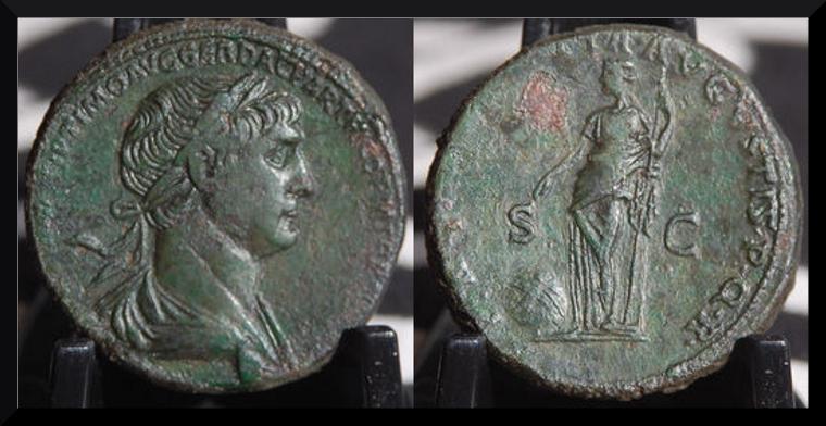 As de Neron et sesterce de Trajan à vendre .... Sester10