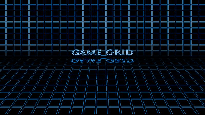 GAME GRID (Rainmeter Skin) 1080bl10