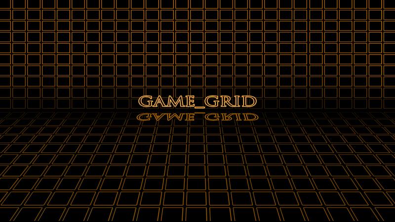 GAME GRID (Rainmeter Skin) 1080or11