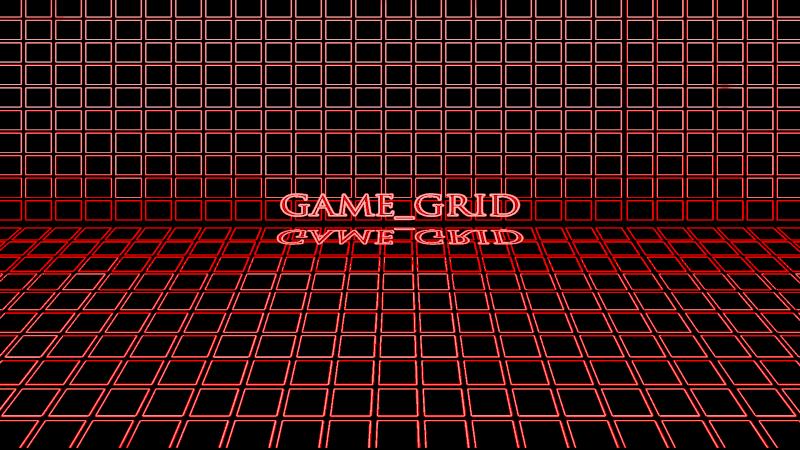 GAME GRID (Rainmeter Skin) 1080re10