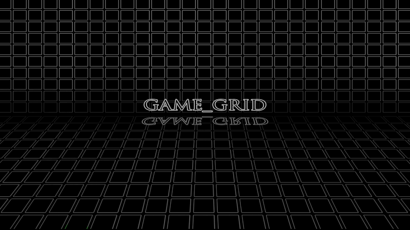 GAME GRID (Rainmeter Skin) 1080wh10