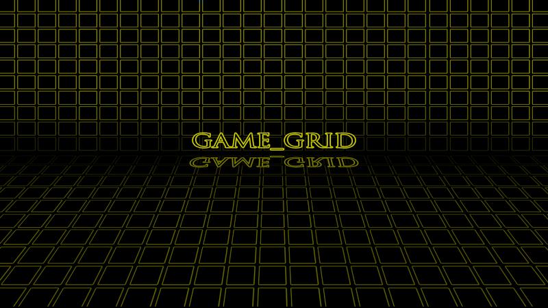 GAME GRID (Rainmeter Skin) Yellow10