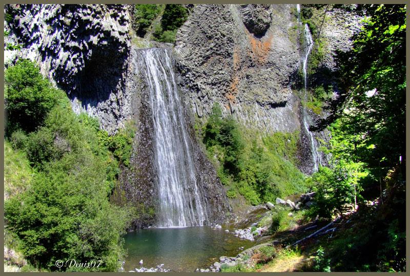 Cascade en Ardeche Cascad10