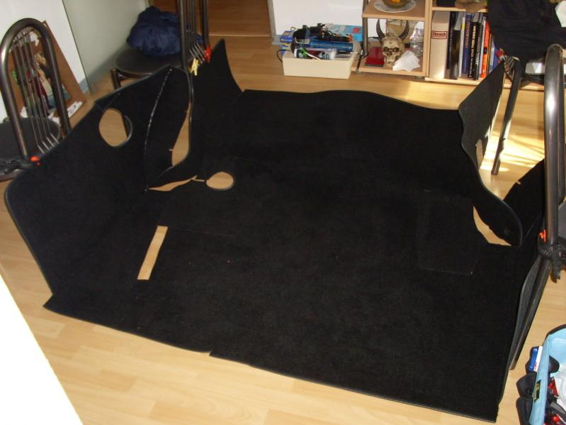 Trunk lining, do-it-yourself 11210