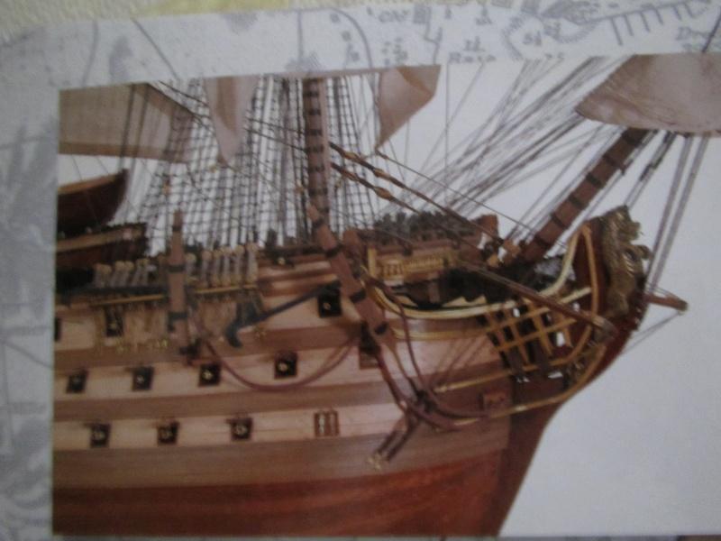 Navire de première ligne espagnol LE SANTA ANA 1/84 d'Artesania Latina Img_1948