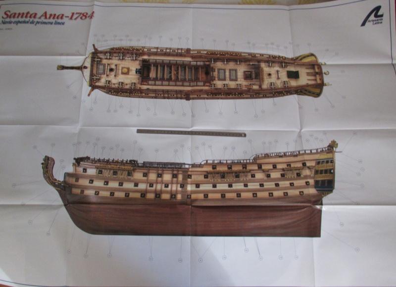 Navire de première ligne espagnol LE SANTA ANA 1/84 d'Artesania Latina Img_1954