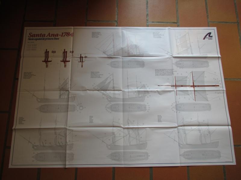 Navire de première ligne espagnol LE SANTA ANA 1/84 d'Artesania Latina Img_1962