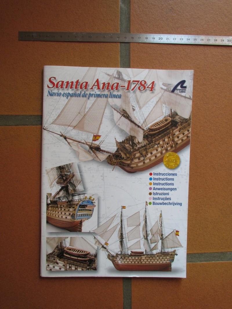 Navire de première ligne espagnol LE SANTA ANA 1/84 d'Artesania Latina Img_1973