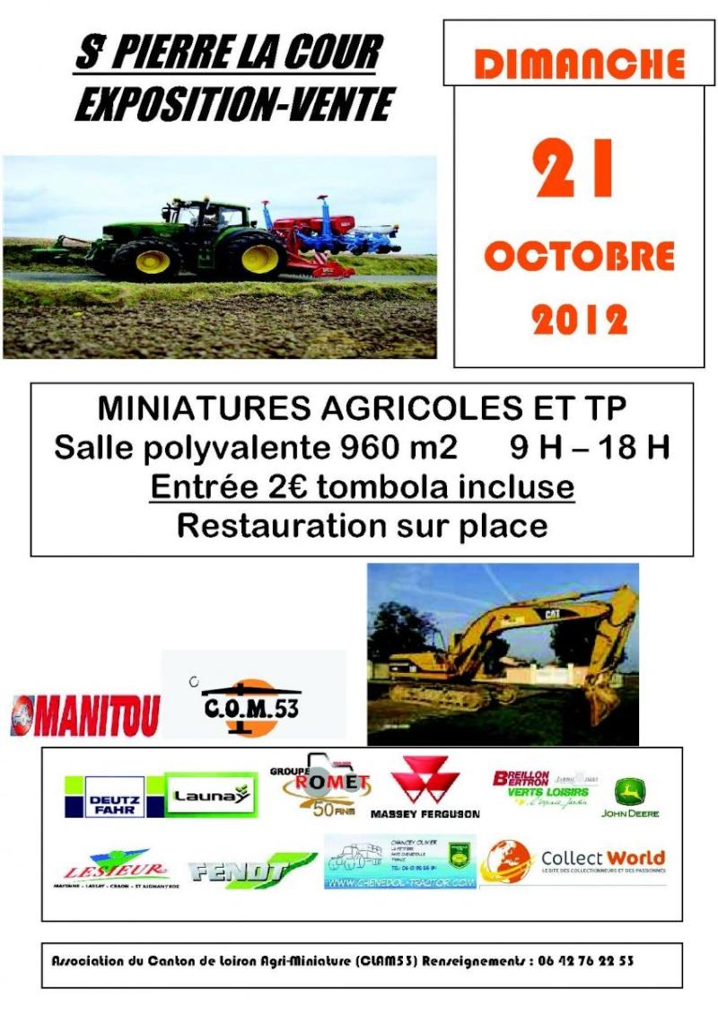 Exposition miniatures Agricole & TP - 53 Affich10
