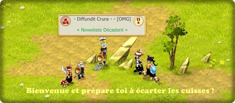 - Diffundit Crura -