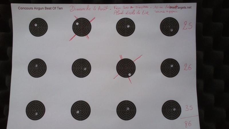 Grand Concours été 2013  Carabine 10m  sur cible C.C. 100 points  Dsc_0110