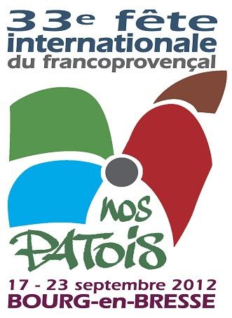 33e Fête internationale du Francoprovençal - 17 au 23 septembre 2012 - Bourg-en-Bresse Patois10