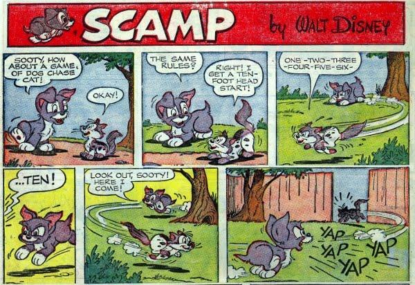 Comics de La dama y el vagabundo Scamp_11