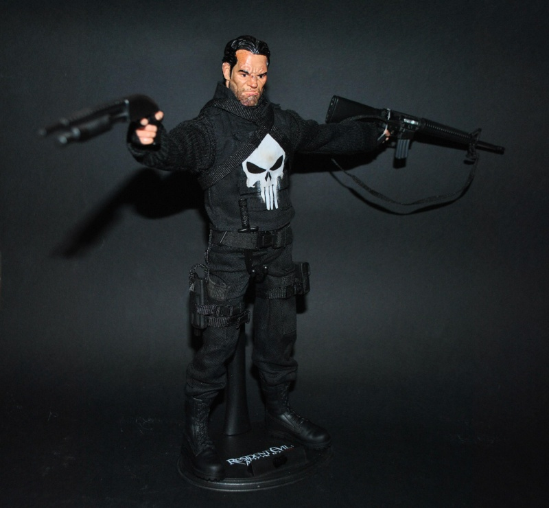 PUNISHER CUSTOM 1/6 12 inch, 30 cm Dsc_0314