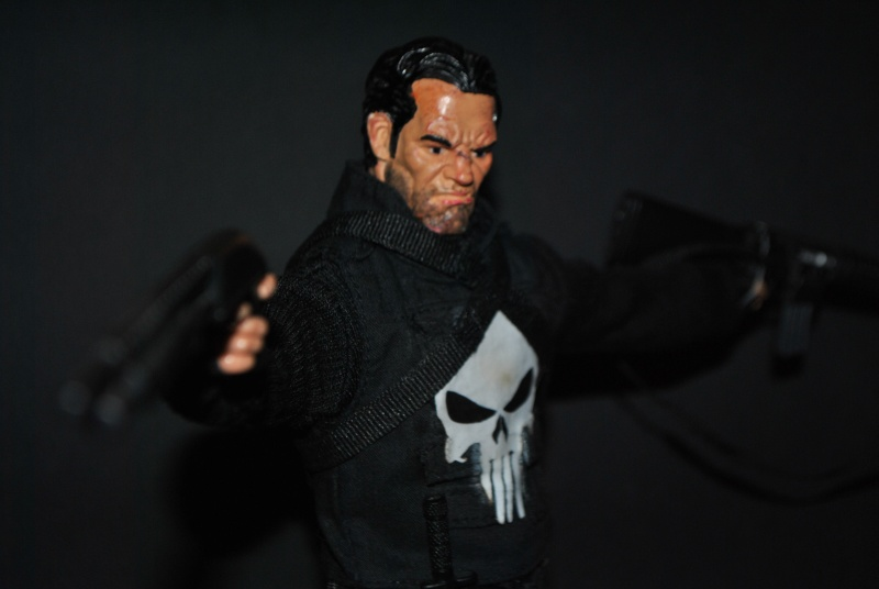 PUNISHER CUSTOM 1/6 12 inch, 30 cm Dsc_0315