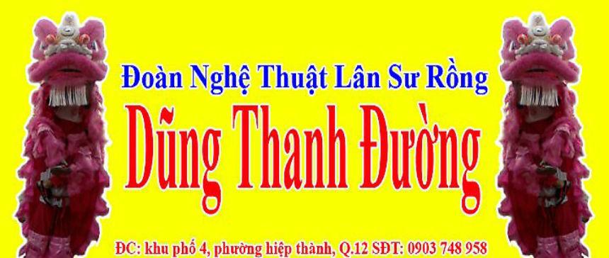 DŨNG THANH ĐƯỜNG