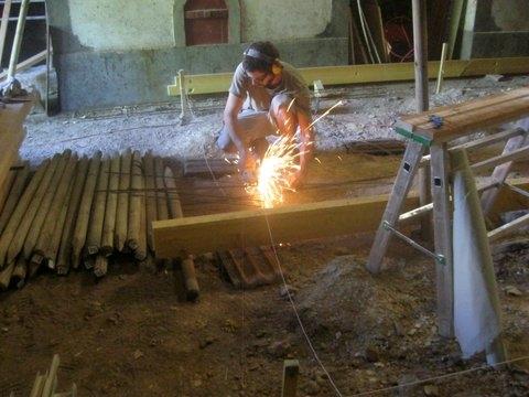 Atelier (construction en cours) de Gauthier13 Fondat14