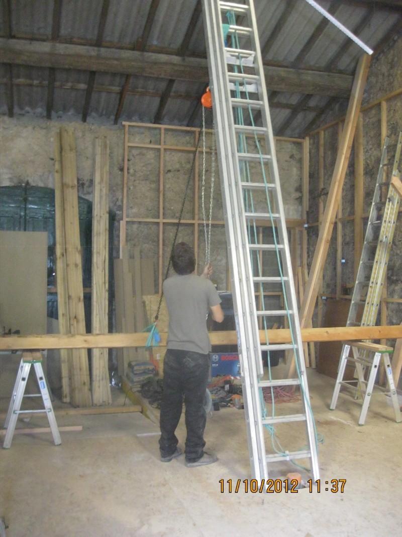 Atelier (construction en cours) de Gauthier13 - Page 5 Levage10