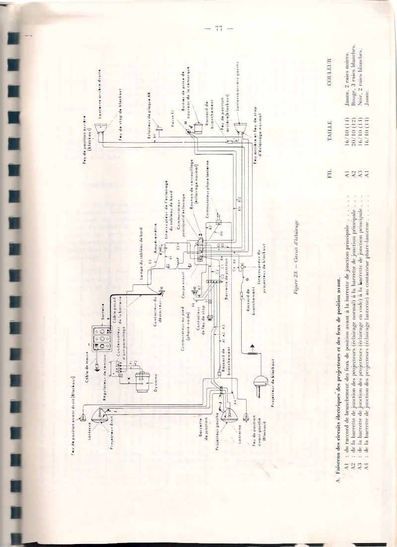 DIVERS CIRCUITS ELECTRIQUES 00510