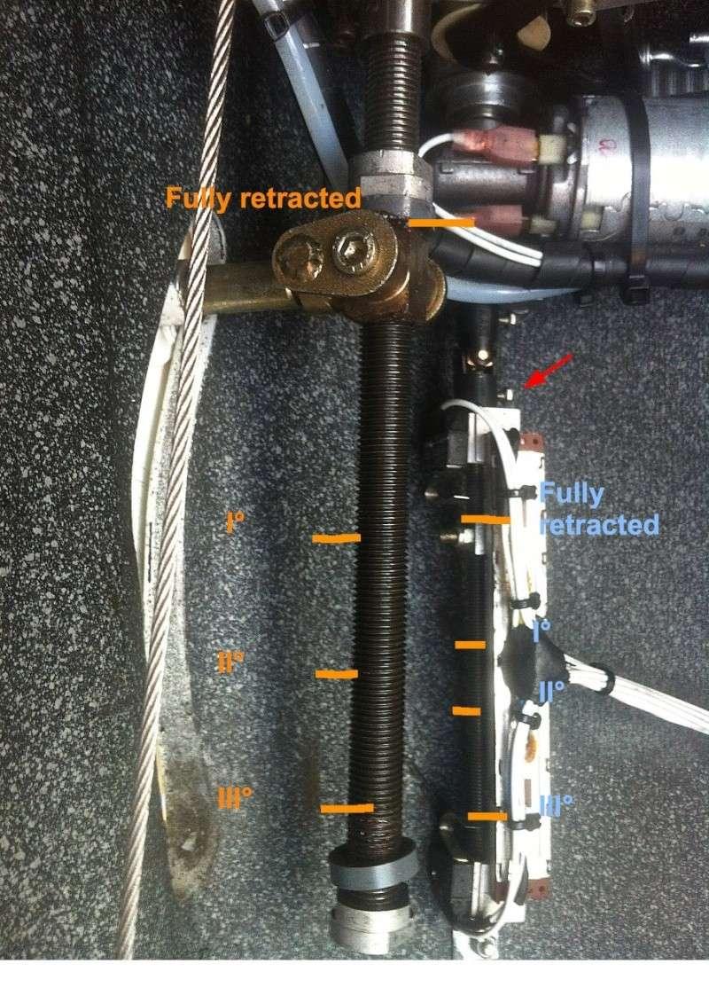 Commande des volets électrique: ajuster, fonctionnement? MCR Club Flap_s11