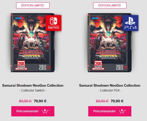 Samurai Shodown Neo Geo Collection (Pix n love) Preco_10
