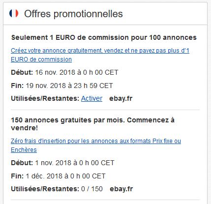 Vendre sur eBay : enchères ou achat immédiat ? Promos10