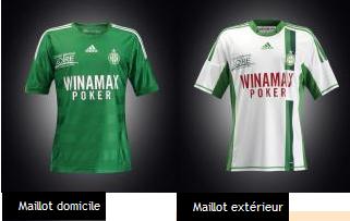 Les nouveaux maillots de l'ASSE - saison 2012-2013 Maillo10