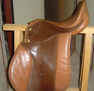 Vend selle mixte cuir bicolore URGENT!!!! Gallop10