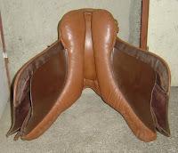 Vend selle mixte cuir bicolore URGENT!!!! Gallop12