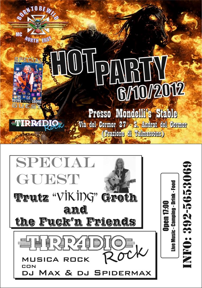 HOT PARTY BORN TO BE WILD 06 ottobre 2012 25542511