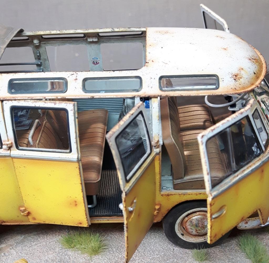 """Volkswagen T1 """"Samba Bus"""" revell 1/24 diorama 20190910"""