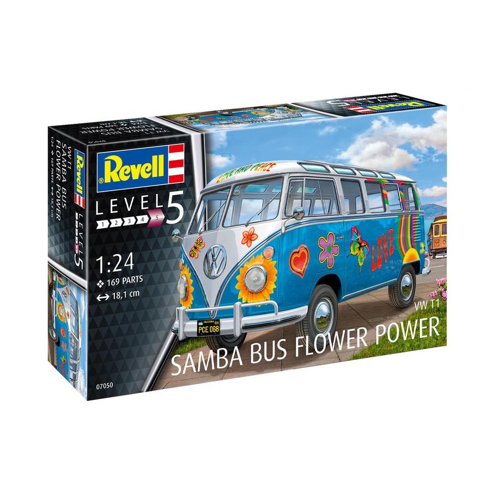 "Volkswagen T1 ""Samba Bus"" revell 1/24 diorama Veh-sa10"
