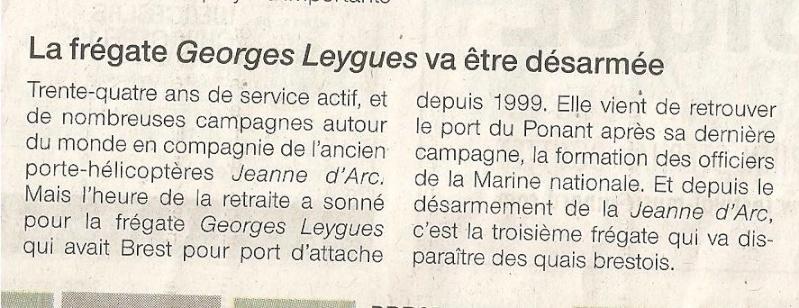 De Grasse et Georges Leygues retirés du service actif 00213