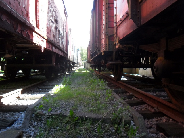 la vieille gare de hombourg (ligne 38) 910