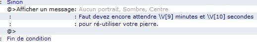 [System Pierre de Foyer] 410