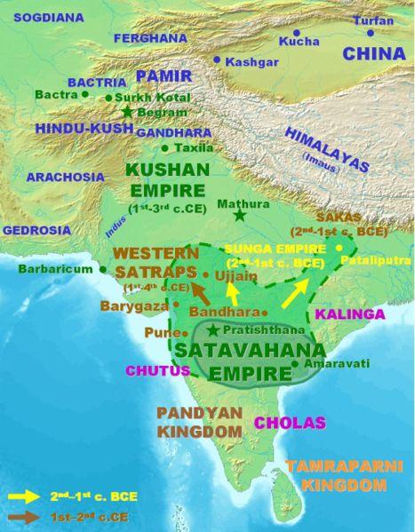 [Inde antique] Empire kouchane et indo-scythes 467px-10