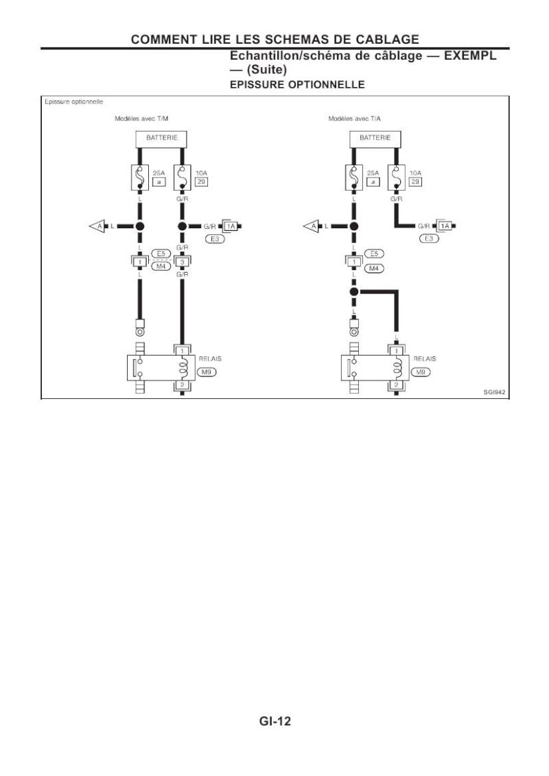 Schema Elettrico Nissan Terrano 2 : Nissan terrano ford maverick manuel atelier complet
