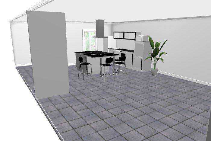 pièce à vivre moderne mais chaleureuse Ikea210