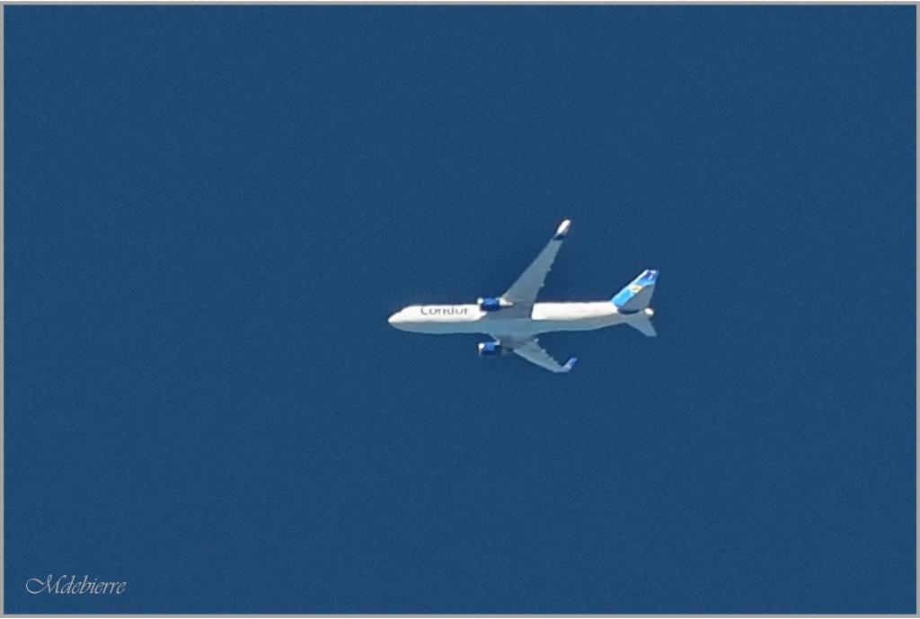 Haute altitude Boeing17