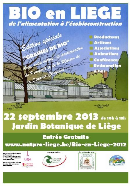 Marché Bio en Liège (Belgique) Affich11