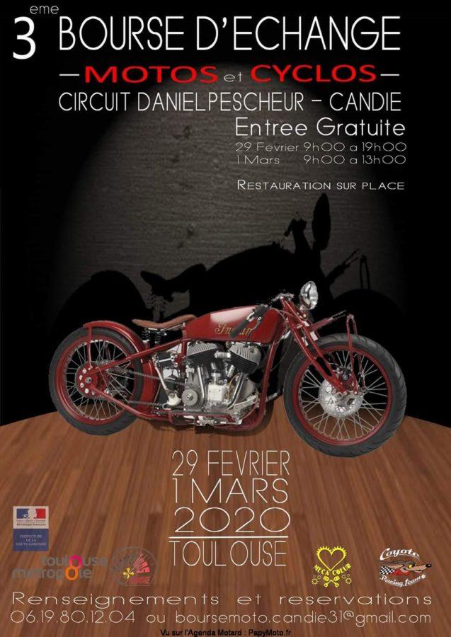 MANIFESTATION - 3ème Bourse D'échanges - 29 Février & 1er Mars 2020 - Toulouse  -candi11