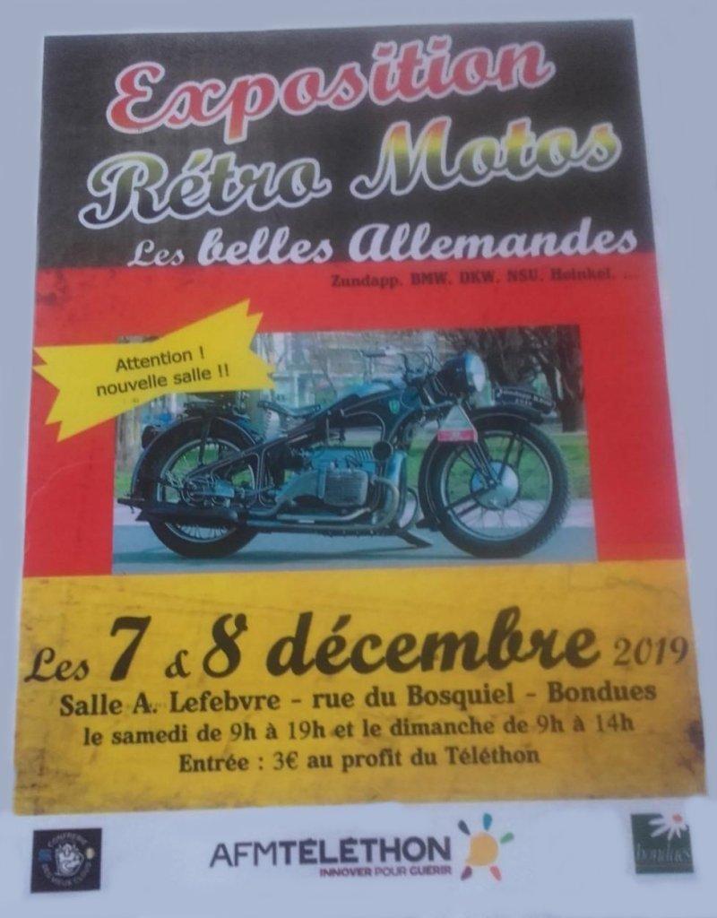 MANIFESTATION - Expo Rétro Motos - 7 & 8 Décembre 2019 - Bondues (59)  1219_i11