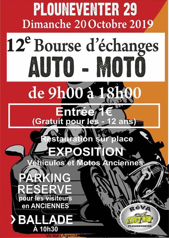 MANIFESTATION - Bourse D'échange - Dimanche 20 Octobre 2019 - Plouneventer (29) 12e-bo10