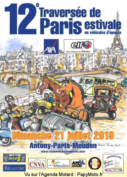 MANIFESTATION - Traversée de Paris - Dimanche 21 Juillet 2019 - PARIS  12e-tr10