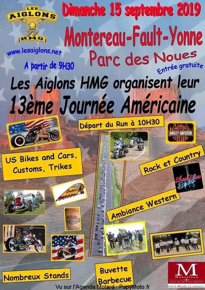 MANIFESTATION - Journée Américaine - 15 Septembre 2019 - Montereau -Fault-Yonne 13e-jo10