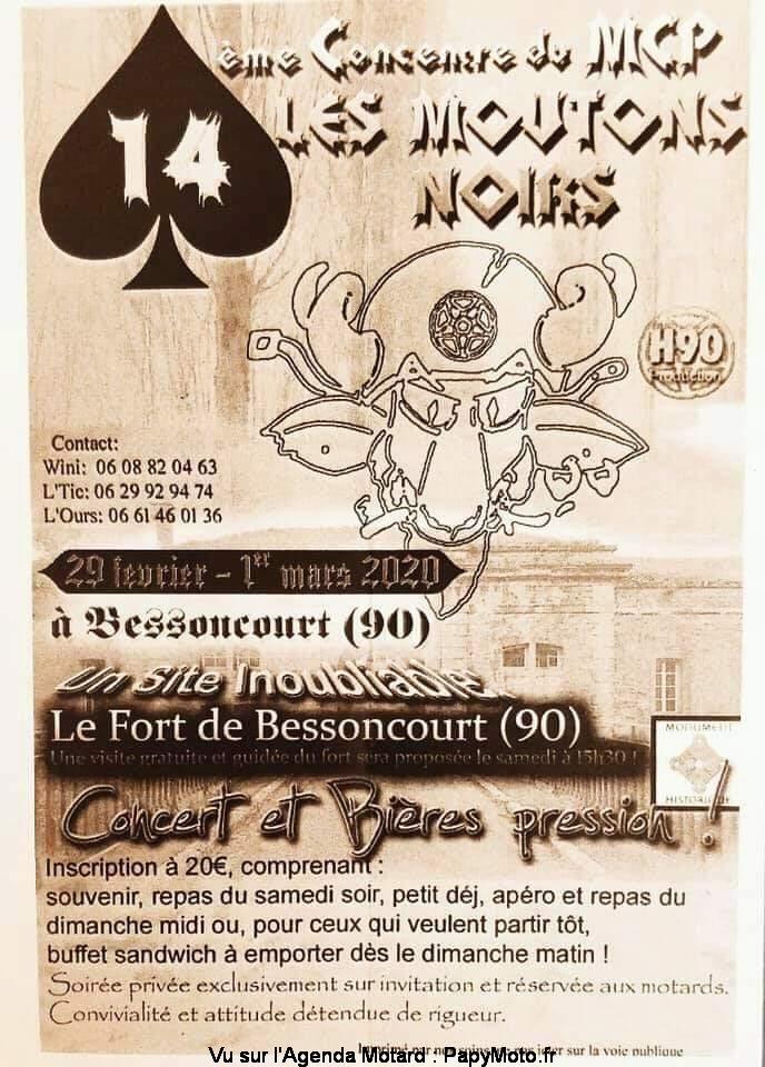 MANIFESTATION - 14ème Concentre - 29 Février & 1er Mars 2020 -  Bessoncourt (90) 14e-co15