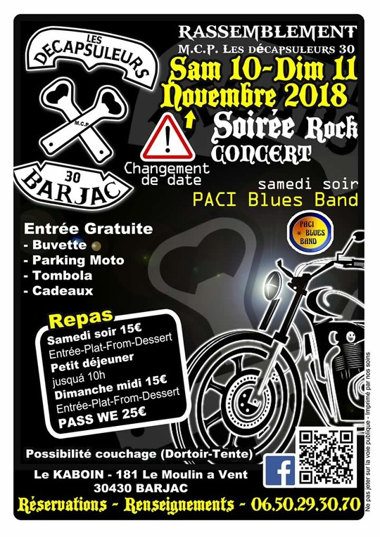 Rassemblement -10 & 11 novembre 2018 - Barjac (30430) 15364011