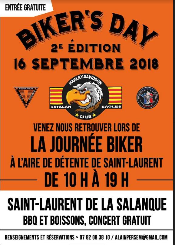 Biker's Day - Dimanche 16 septembre 2018 -Saint - Laurent de la Salanque  15367710