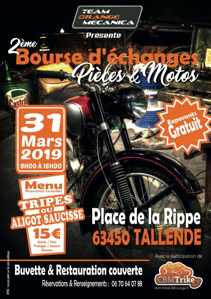Bourse - 31 Mars 2019 - TALLENDE (63450) 15489310